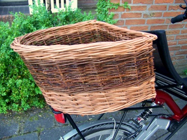Bikes With Baskets In The Back Recumbent Bicycle basket