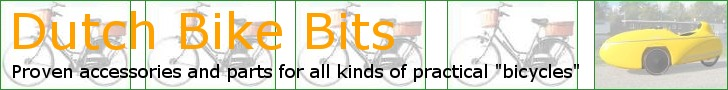 Parts for all types of Dutch bicycles