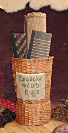 Rug display basket