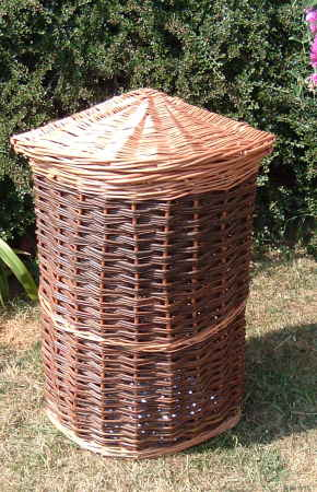 Custom made linen basket