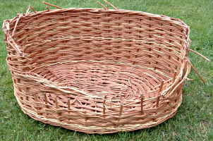 Basket needing repair