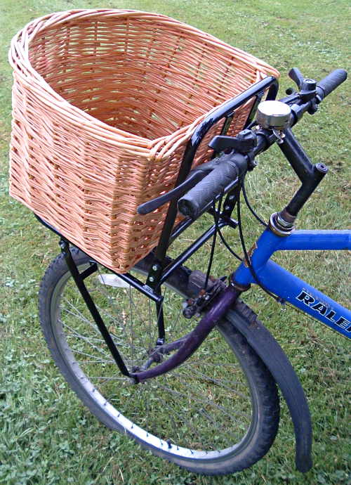 David Hembrow Basketmaker Wicker Willow Bicycle Baskets