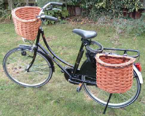 David Hembrow Basketmaker Bicycles Fitted With My Baskets