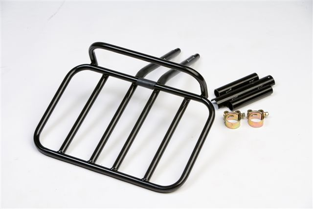 Frame fixing bicycle front rack