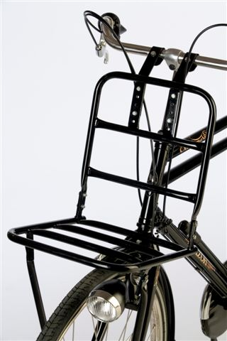 Frame fixing front rack