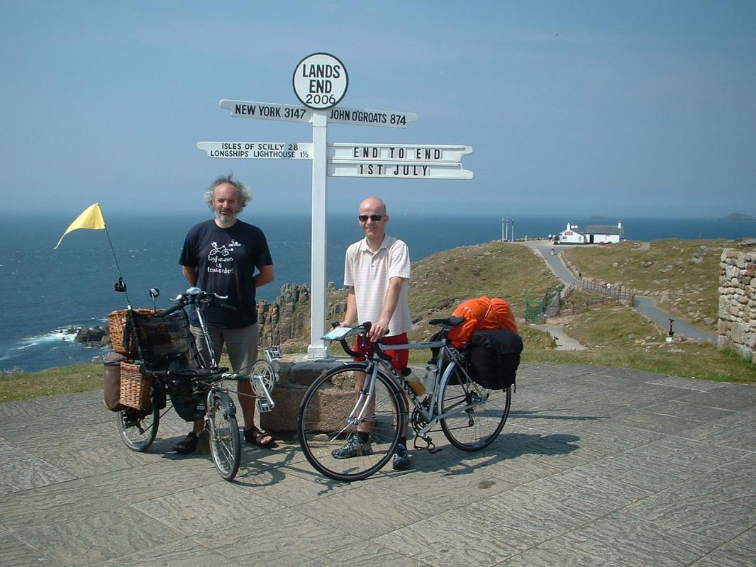 Lands End to John O'Groats, it's a legendary trip, the full length of the  British mainland from bottom left to top right. We set off together on 1st  July ...