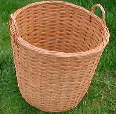 Picture of a log basket