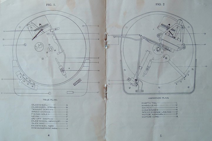 goldring hi fi turntable made by lenco page 4 and 5 of goldring lenco 88 manual