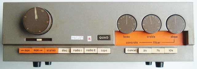 quad preamplifier quad power amplifier quad 33 control amplifier