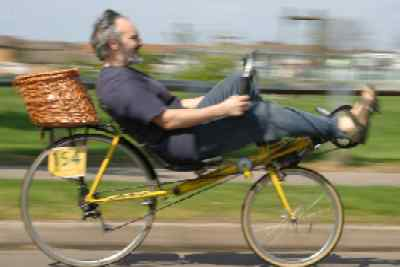 Photo of me riding my Ross